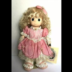 "1993 Precious Moments Sweetheart Amber 16"" Doll"